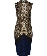 BODYFLIRT boutique Etuikleid in blau von bonprix