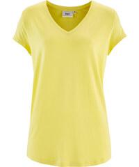 bpc bonprix collection Jersey-Shirt, Kurzarm in gelb für Damen von bonprix