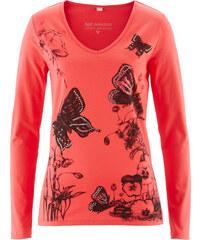 bpc selection Langarmshirt in rot für Damen von bonprix
