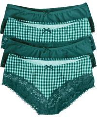 bpc bonprix collection Panty (4er-Pack) in grün für Damen von bonprix