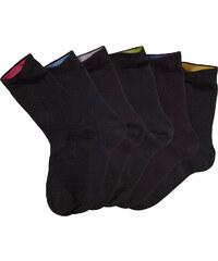 Bench Socken (6er-Pack) in der Geschenkbox in schwarz von bonprix