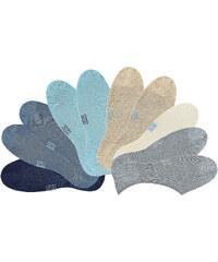 H.I.S HIS Füßlinge (10er-Pack) in blau von bonprix
