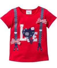 bpc bonprix collection T-Shirt, Gr. 80/86-128/134 3/4 Arm in rot für Mädchen von bonprix