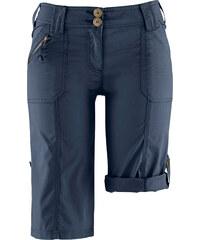 bpc bonprix collection Bermuda mit krempelbaren Beinen in blau für Damen von bonprix