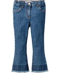 John Baner JEANSWEAR Jeans mit Schlag, Gr. 80-134 in blau für Mädchen von bonprix