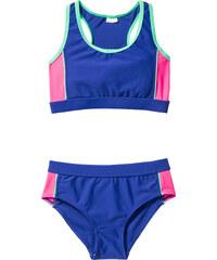 bpc bonprix collection Bustier Bikini Mädchen (2-tlg. Set) in blau für Mädchen von bonprix