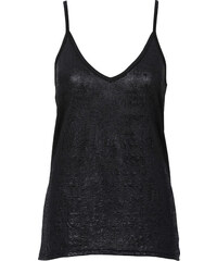 BODYFLIRT Glitzer-Top in schwarz für Damen von bonprix