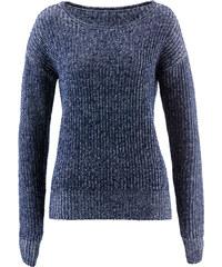 bpc bonprix collection Pullover 2-farbig langarm in blau für Damen von bonprix