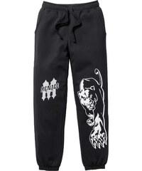 RAINBOW Sweathose Slim Fit in schwarz für Herren von bonprix