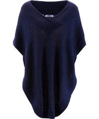 bpc bonprix collection Poncho in blau (V-Ausschnitt) für Damen von bonprix