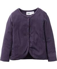 bpc bonprix collection Shirtjacke, Gr. 80/86-128/134 langarm in lila für Mädchen von bonprix