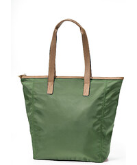 bpc bonprix collection Shopper mit Lederimitat in grün für Damen von bonprix