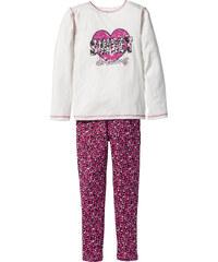 bpc bonprix collection Pyjama (2-tlg.), Gr. 128/134-176/182 in weiß für Mädchen von bonprix