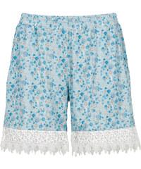 BODYFLIRT Shorts mit Spitze in blau für Damen von bonprix