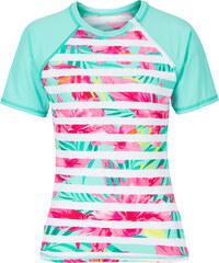 RAINBOW Bade T-shirt in blau für Damen von bonprix