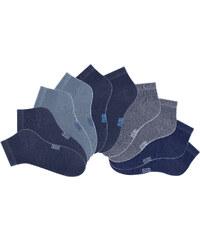 H.I.S HIS Damensneakersocke (10er-Pack) in blau für Damen von bonprix