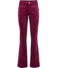 RAINBOW Cord-Hose, weites Bein in lila für Damen von bonprix
