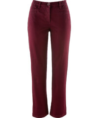 bpc bonprix collection Figurformende Stretch-Hose, knöchellang in rot für Damen von bonprix