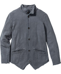 RAINBOW Sweat-Blazer Slim Fit langarm in grau für Herren von bonprix