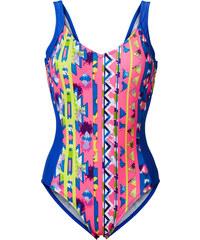 RAINBOW Badeanzug in blau für Damen von bonprix