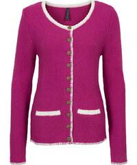 RAINBOW Strickjacke langarm in pink für Damen von bonprix