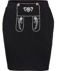 RAINBOW Sweatrock mit Stickerei in schwarz für Damen von bonprix