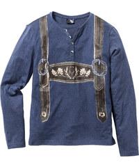RAINBOW Langarmshirt Slim Fit in blau für Herren von bonprix