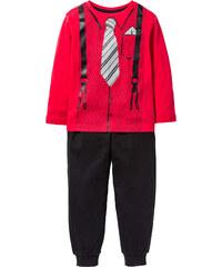 bpc bonprix collection Pyjama (2-tlg. Set) in rot für Jungen von bonprix