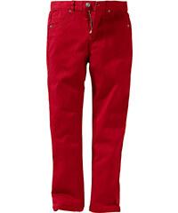 John Baner JEANSWEAR Twillhose Slim Fit, Normal in rot für Jungen von bonprix