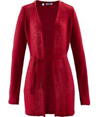 bpc bonprix collection Feinstrick-Jacke langarm in rot für Damen von bonprix