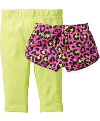 bpc bonprix collection Shorts + 3/4 Legging (2er-Pack), Gr. 80-122 in pink für Mädchen von bonprix