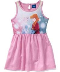 Disney Kleid mit Tüll FROZEN, Gr. 80-134 ohne Ärmel in rosa von bonprix