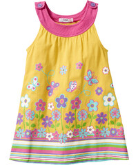 bpc bonprix collection Kleid ohne Ärmel in gelb (Rundhals) von bonprix