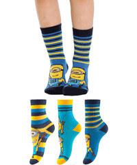 Despicable Me 2 Minions Socken (3er-Pack) in blau für Babys von bonprix