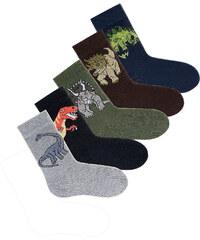 GO IN Socken (5er-Pack) in schwarz für Babys von bonprix