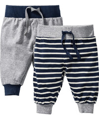 bpc bonprix collection Baby-Shirthose (2er-Pack) Bio-Baumwolle in grau für Herren von bonprix