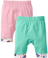 bpc bonprix collection Baby Shirthose (2er-Pack) Bio-Baumwolle, Gr. 56/62-104/110 in grün für Damen von bonprix