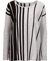 BODYFLIRT Oversize-Pullover langarm in grau für Damen von bonprix