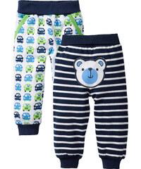 bpc bonprix collection Baby Sweathose (2er-Pack) Bio-Baumwolle in blau für Herren von bonprix