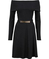BODYFLIRT boutique Trägerloses Kleid in schwarz von bonprix