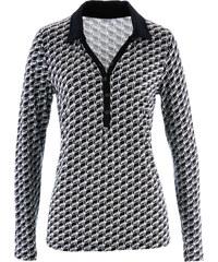 bpc selection Shirt-Bluse langarm in grau für Damen von bonprix