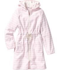bpc bonprix collection Fleece Bademantel langarm in rosa für Damen von bonprix