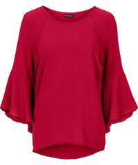 BODYFLIRT MUST HAVE: Bluse mit Glockenärmel in rot von bonprix