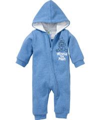 Disney Baby Sweat Overall langarm in blau von bonprix
