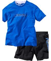 bpc bonprix collection Shorty (2-tlg. Set) kurzer Arm in blau für Herren von bonprix