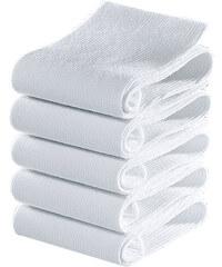 GO IN Socken (5er-Pack) in weiß von bonprix