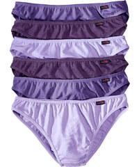 bpc bonprix collection Slip (6er-pack) in lila für Damen von bonprix