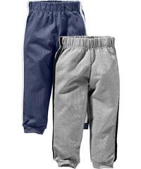 bpc bonprix collection Sweathose (2er-Pack) in blau für Jungen von bonprix