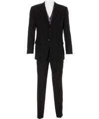 bpc selection Anzug (5-tlg.) Slim Fit langarm in schwarz für Herren von bonprix