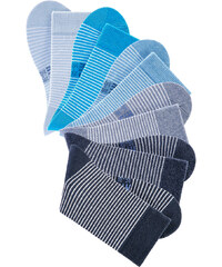 H.I.S HIS Ringelsocke (6er-Pack) in blau für Damen von bonprix